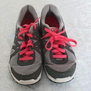 Nike Revolution 2 Women's Gray Pink Blue Athletic